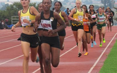 Athletes Show True Colours at the 3rd CGA Track & Field League