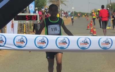 Developing Athletes keep the spirit of the legendary Zithulele Sinqe alive in streets of Orange Farm