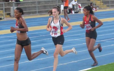 Athletes Roared Around Track and Field at the CGA Seniors and Juniors Championships