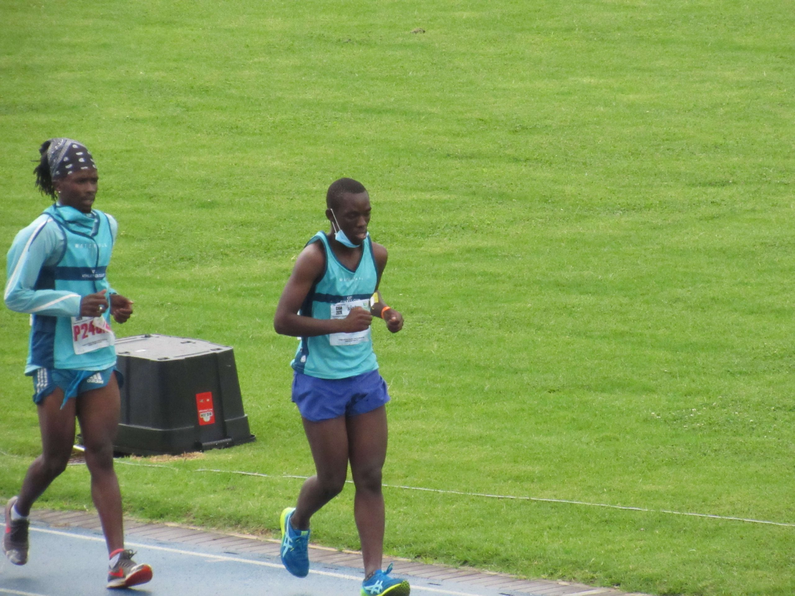 CGA Track & Field Boksburg Stadium 05 December 2020