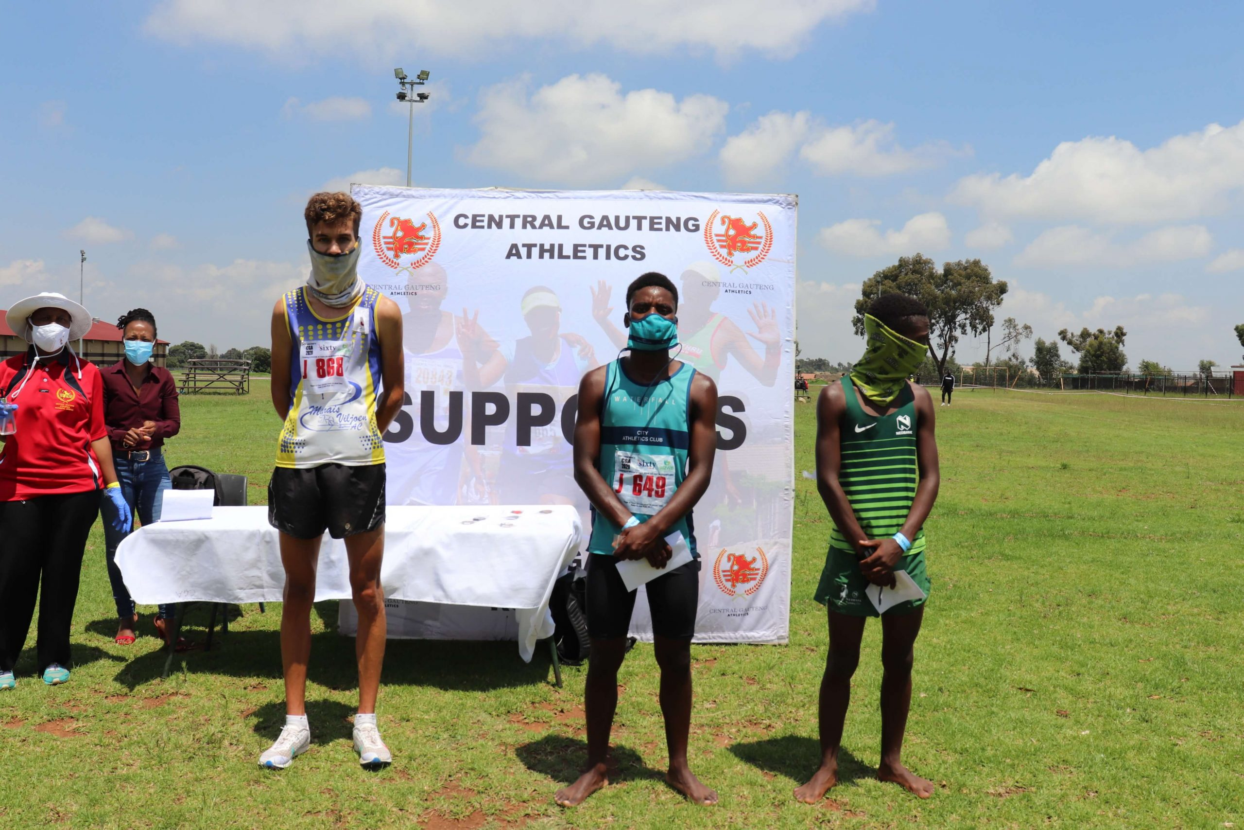 January 2021 Cross Country Junior Men's 8km