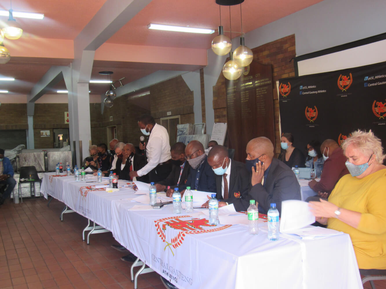 CGA AGM Board Members at Germiston Stadium (06 March 2021)
